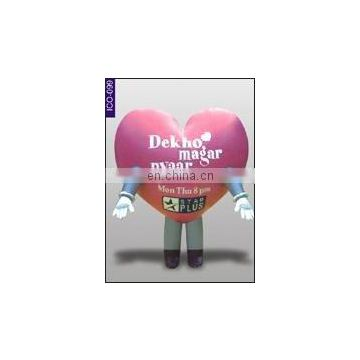 Heart Shape Inflatable Costume