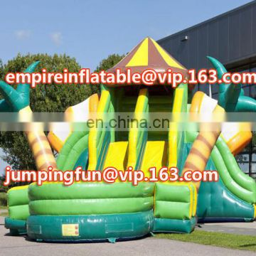 Top design multi function inflatable medium slide for sale ID-SLM020
