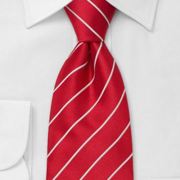 Self-tipping Boys Silk Woven Neckties Standard Length Silver