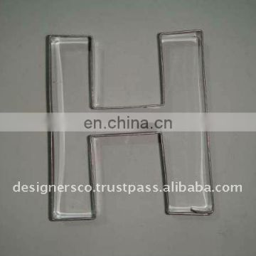 Stainless Steel Alphabet Cookie Cutter