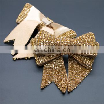 Whoesale crystal rhinestone shoe accessories decorative shoe bow DIY handmade shoe accessories