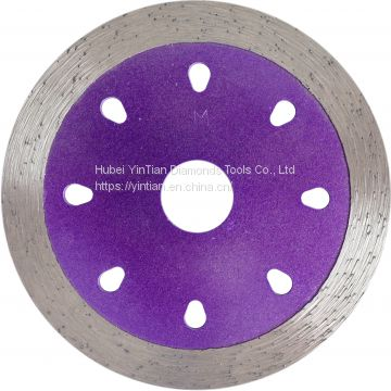 110mm Sintered Continous Rim Diamond Saw Blade