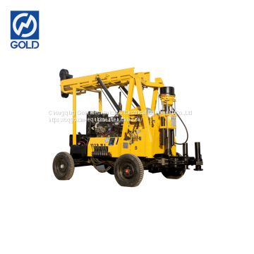 Vehicle Mounted Type Drilling Rig Large Power Supply Drilling Equipment
