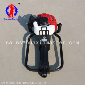 Portable Gasoline Soil Core Sampling Drilling Machine From China for sale