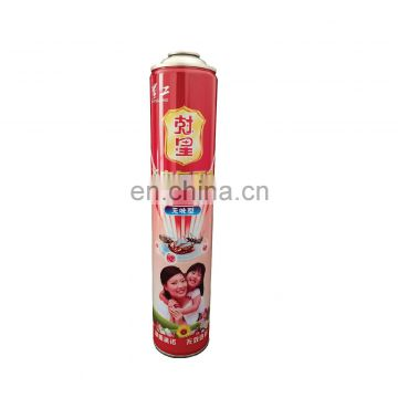 Hebei aerosol tin can with printing for insecticide spray 750ml and aerosol canister750ml