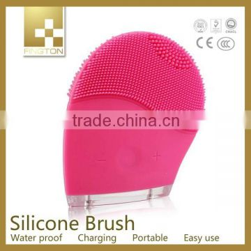 2015 silicone face brush, face lift care brush, electric face brush korea beauty equipment