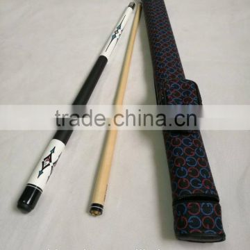 57 inch High quality 1/2 joint Maple billiard pool cue set with cue case/ Billiard cue set / Factory promotion