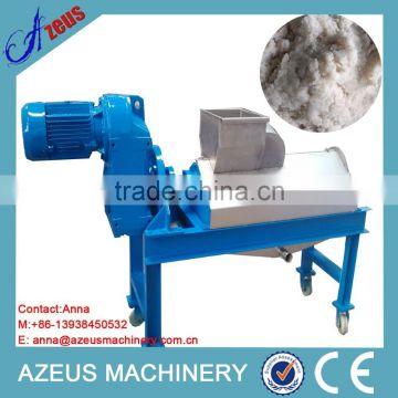 Hot sale cassava waste dryer machine/ food waste dewatering