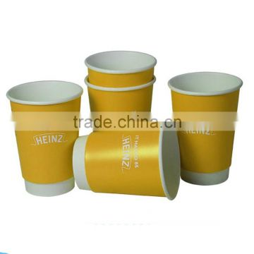 Best price hot selling PE coated cool disposable cups double wall cool drink paper cups