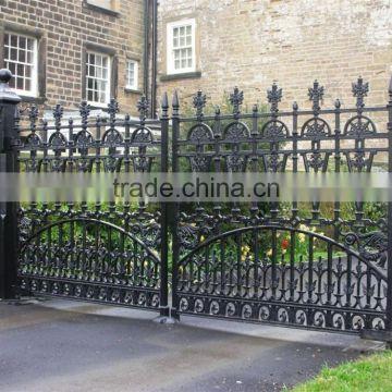 Antique Decorative Garden Cast Iron Gate Design