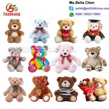 5e0bd42b503c Wholesale Custom 10cm 50 cm 60cm Colorful Pink Ted Bear Funny 3 inch 7 inch  12 inch 5 ft 6 foot Blue Color Magic Teddy B of Custom Teddy Bears from  China ...