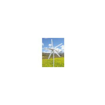 Horizontal Axis 300W 5 Blade Wind Turbine/H-type vertical