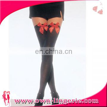 Spandex / Nylon Material and Adults Age Group High Stockings