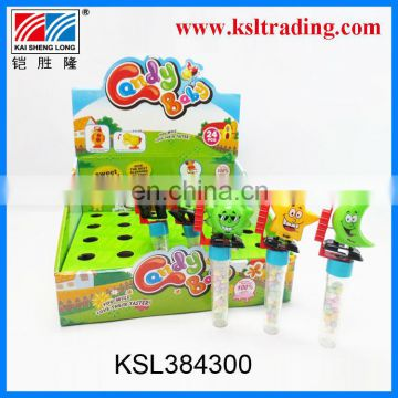 24PCS plastic wind up sun moon candy toy for kids