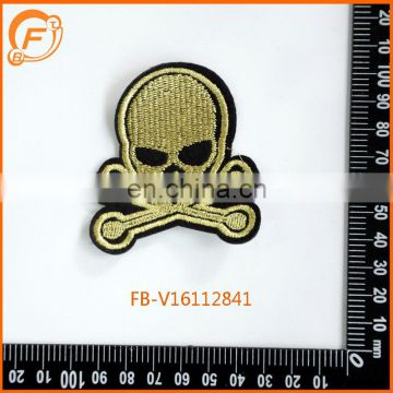 Embroidery Patch Skeleton Designs Custom Embroidery Iron On Badge
