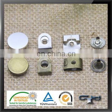 201 and 304 steel high quality button hook and eye for trousers