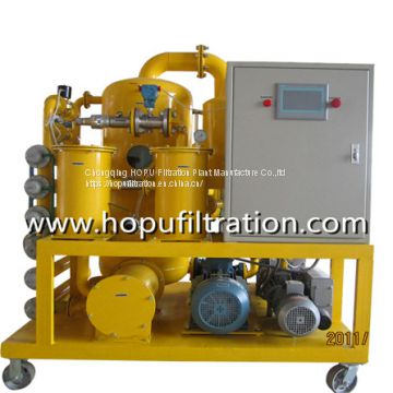 Double stage vacuum Transformer oil Purifier for Series ZYD