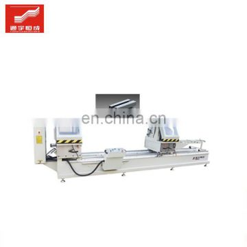 Two head aluminum cutting saw machine window extruder espagnolette hardware equipments with high quality