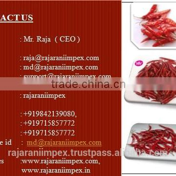 SANNAM/S4 Dehydrated Red Chilli