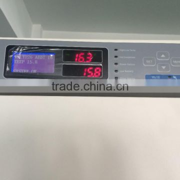 What is the optimal temperature setting in a refrigerator freezer?