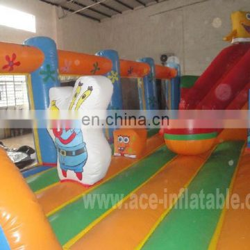 giant sponge bob inflatable fun city