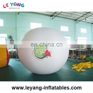 High quality advertising helium inflatable balloon with custom logo