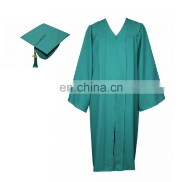 Wholesale Graduation Matte Cap and Gown for High School