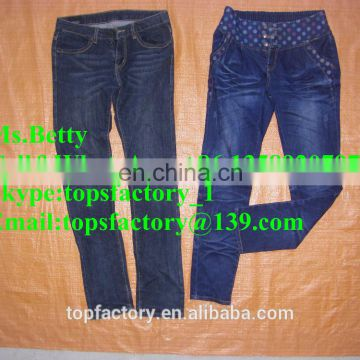 Top quality grade jean