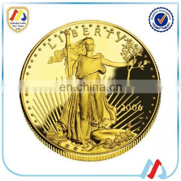 2016 Cheap Metal Custom Fake Gold Coins of New Products from