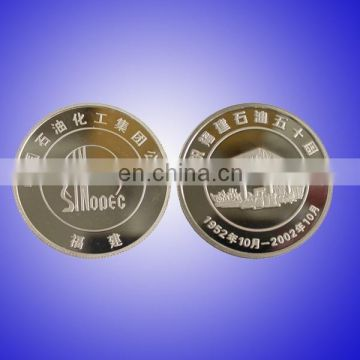 personalized silver coin replica