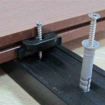 WPC decking accessories clips