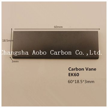 KVT 3.80 90133000004  WN124-034 Carbon vane for vacuum pump