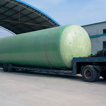 Water Treatment Plant Fiberglass Stock Tank