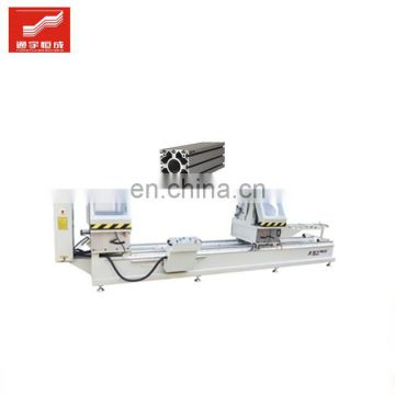 Double-head aluminum cutting saw machine al profile hinge extrusion supply