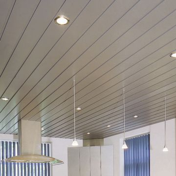 Maple Grain High Side Aluminum Buckle Ceiling Commercial Summer