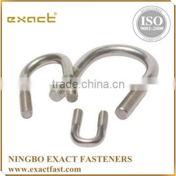 HIGH QUALITY CARBON STEEL ZINC/HDG/ STAINLESS STEEL U BOLT