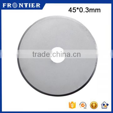 Stainless Steel 440 Cloth Round 45Mm Blade For Cutting Carbon Fiber, SKS-7 Rotary Blade For Fabric