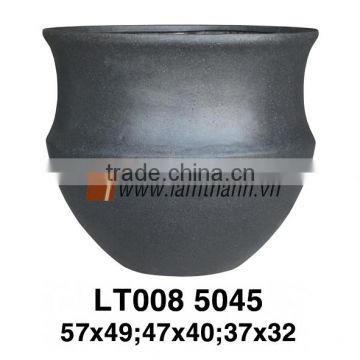 Vietnam Exporter Modern Decorative Unique Elegant Poly Terrazzo Planter