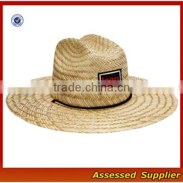 a5269ceb8 Australia Men Straw Lifeguard Hat With Adjustable String/Summer UV  Protection Surf Straw Hat/Beach Straw Hat-ZT/1734