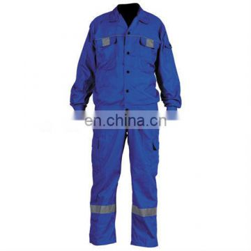 Bule Reflective Safety Work Coverall
