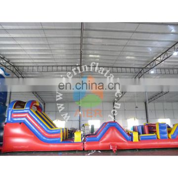 two parts obstacle course/ factory price inflatable obstacle course Guangzhou
