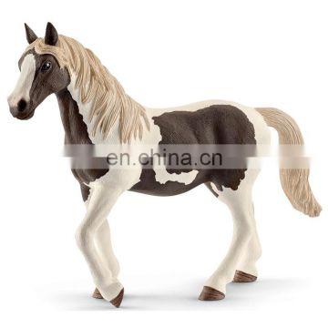 customized high quality pinto horse animal figure