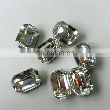 China Octagon Clear Fashion Crystal Stone for Jewelry Making