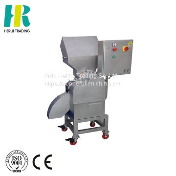 Carrot cube cutting machine pepper processing machine ginger cube cutting machine