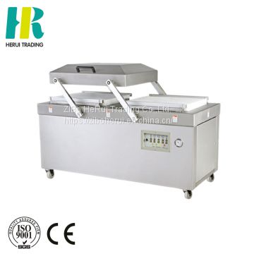 Vacuum packing machine for fruit and vegetable