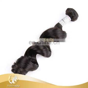 Top Quality Jazz Wave Human Peruvian Hair Extensions For Women