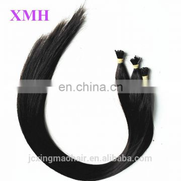 Hot selling !!Best price Peruvian Virgin Hair stick i tip keratin human hair extensions