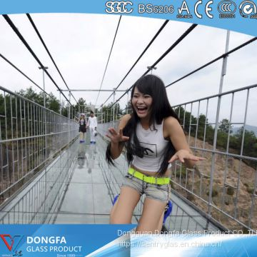 Sentryglas laminated glass bridge