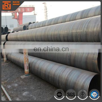26 inch carbon steel pipe, ssaw spiral submerged arc welding steel pipe for piling
