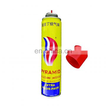 butane gas universal bottle and aerosol canister made in china